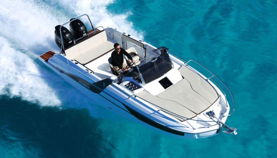 sundeck cruising boat